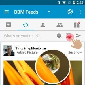 cara-posting-foto-di-status-bbm