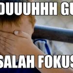 Puluhan Meme Gagal Fokus Lucu Kocak Gokil Terbaru
