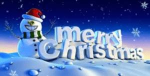 dp bbm boneka salju hari natal 2018
