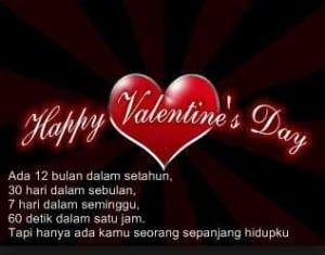 14 februari hari valentine