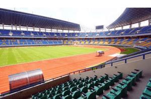 Stadion Termegah dan Terbesar di Indonesia Stadion Palaran Samarinda