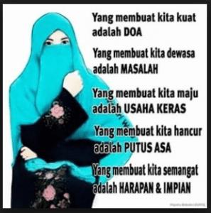 dp bbm islami romantis