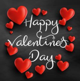 gambar dan ucapan romantis happy valentine 2018
