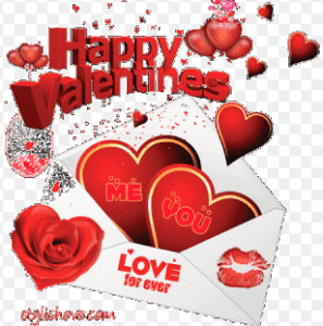 gambar lucu ucapan happy valentine
