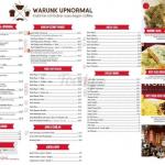 Daftar Menu Warunk Upnormal