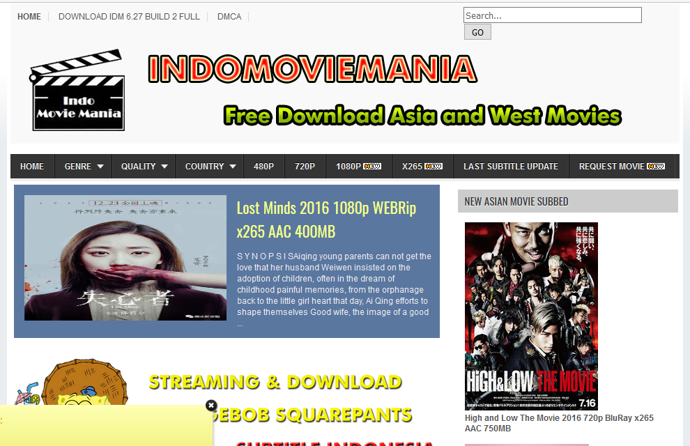 Tempat Download Film Full Gratis