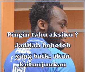 DP BBM dan Meme Michael Essien Persib Bandung