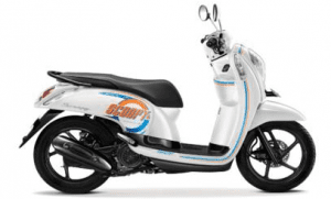 Scoopy Warna Capital White