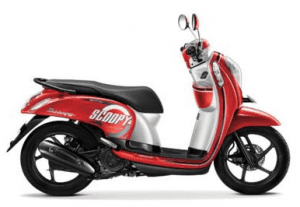 Scoopy Warna Estate Red