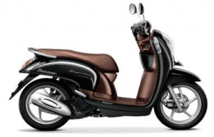 Scoopy Warna Fancy Black