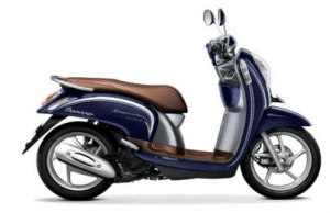 Scoopy Warna Uptown Blue