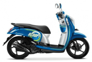 Scoopy Warna Urban Blue