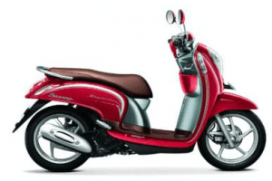 Scoopy warna vogue red