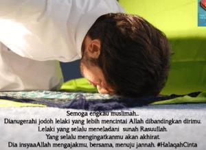 dp bbm tentang jodoh bergerak islami