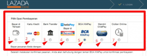 Cara Bayar Cicilan belanja online tanpa kartu Kredit lazada