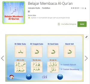 aplikasi belajar membaca al-qur'an