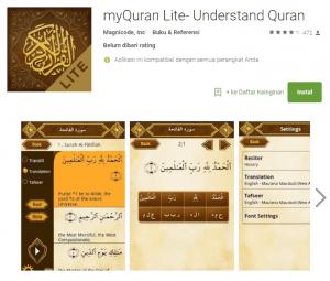 aplikasi belajar membaca al-qur'anmy qur'an lite