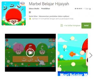 aplikasi marbel belajar hijaiyah