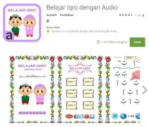 Aplikasi Belajar Membaca Al-Qur'an Android