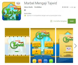 aplikasi marbel mengaji tajwid