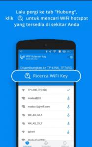 cara menggunakan wifi password master