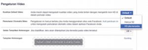 Cara Upload Video Ke Facebook Lewat HP kualiatas HD