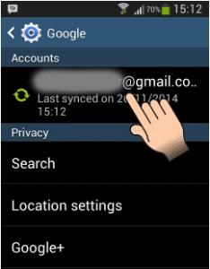 cara keluar dari gmail lewat hp