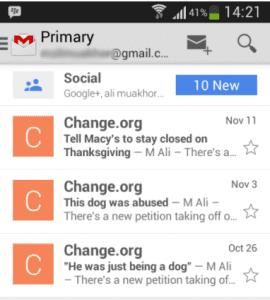 cara log out gmail di android lenovo
