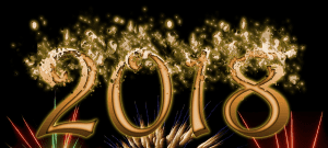 Animasi DP BBM Bergerak Selamat Tahun Baru 2018 Unik Terbaru