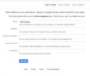 cara mendaftarkan jurnal ke google scholar