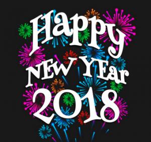 desain terbaru happy new year 2018