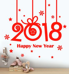 gambar lucu happy new year 2018