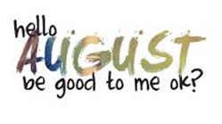 gambar tulisan welcome agustus