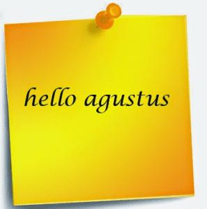 gambar ucapan hello agustus