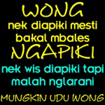 DP BBM Lucu Bahasa Jawa Ngapak Bikin Ngakak Terbaru