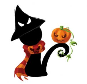 gambar halloween mengerikan
