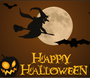 gambar happy hallowen menakutkan