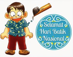 DP BBM Happy Batik Day Ucapan Hari Batik Nasional