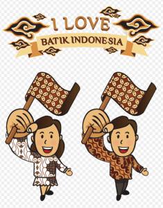 DP BBM Hari Batik Nasional Happy Batik Day Terbaru 2017