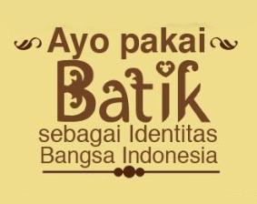 Kumpulan Gambar Batik Ucapan Hari Batik Nasional