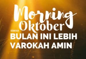 dp bbm morning oktober