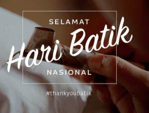 dp bbm selamat hari batik nasional