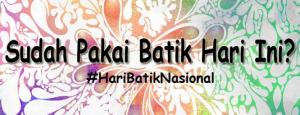 gambar hari batik nasional