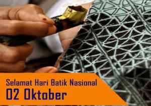ucapan selamat hari batik nasional 2 oktober