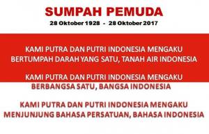 Teks Sumpah Pemuda 28 Oktober 1928 dan Maknanya