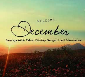 Welcome Desember 2