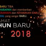 Kumpulan Ucapan Doa dan Harapan menyambut Tahun Baru 2018