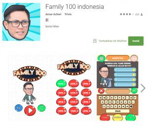 Kunci Jawaban Family 100 Level 1 sampai 12 Lengkap