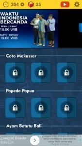 Kunci Jawaban WIB Level Coto Makasar TTS Cak Lontong Net TV Lengkap