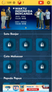 Kunci Jawaban WIB Level Soto Banjar TTS Cak Lontong Net TV Lengkap